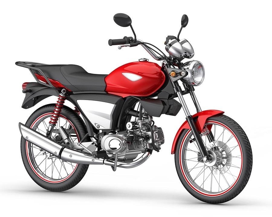 Super 100 design for Dafra Motos