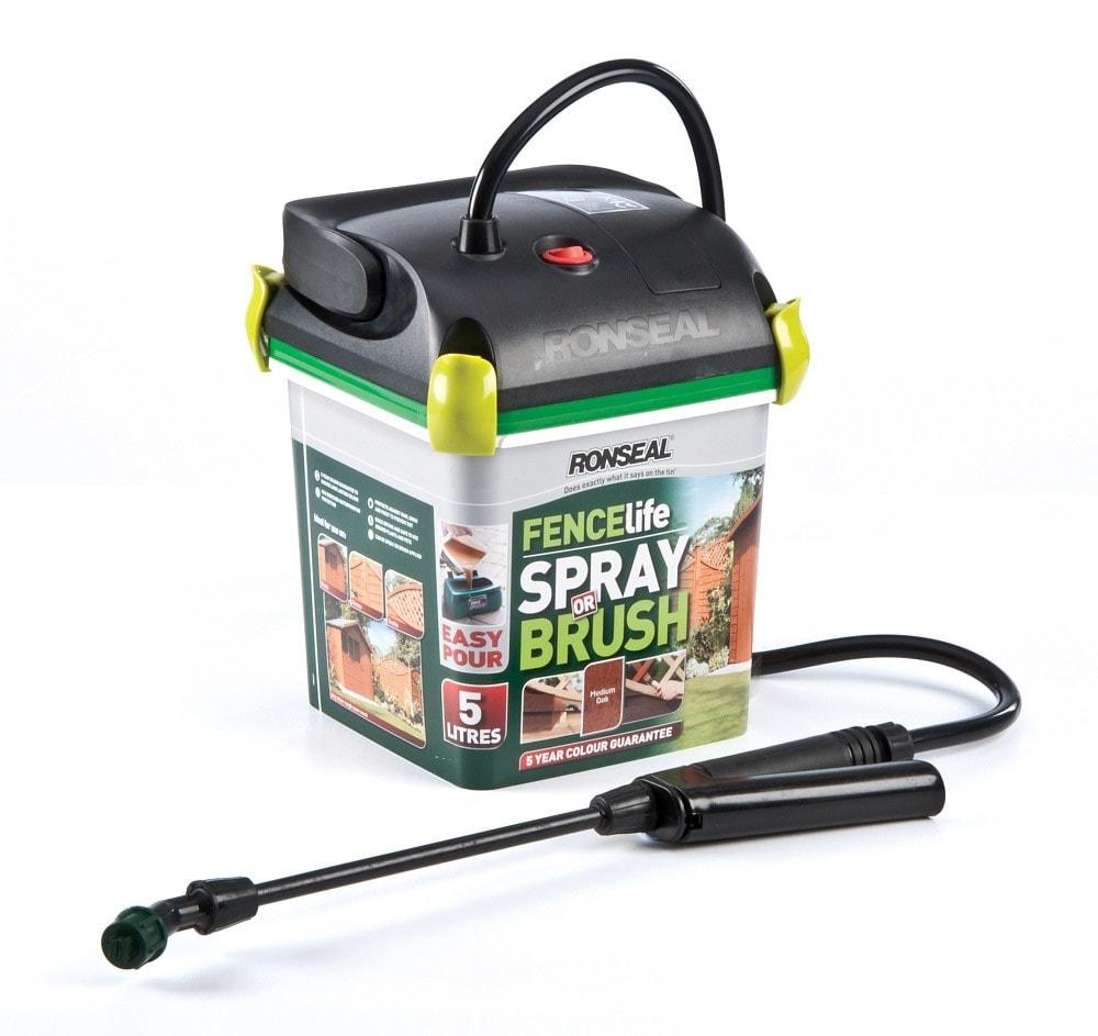 ronseal sprayer design