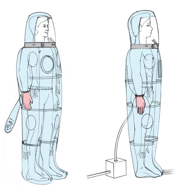 Ebola solation Suit