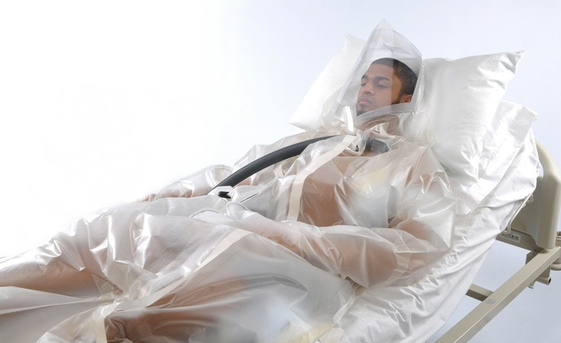 Patient isolation Suit