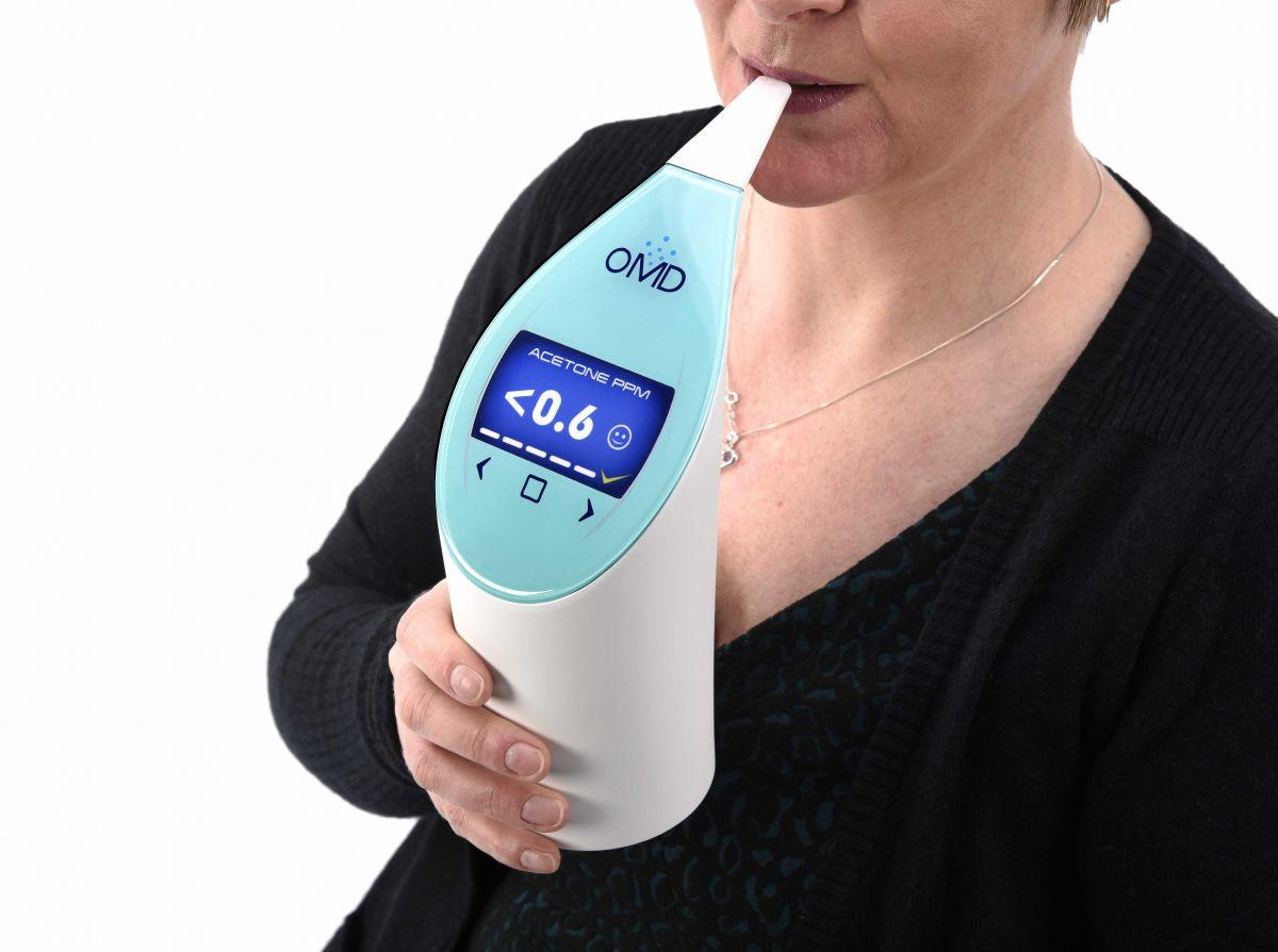 OMD portable breath analysis device